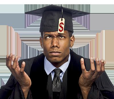 Sad Graduate not in a Delaware Apprenticeship program